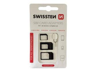 Adaptér SWISSTEN pro SIM karty 4in1
