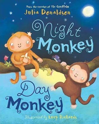 Night Monkey, Day Monkey - Donaldson Julia