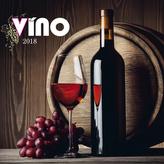 Víno 2018 - nástěnný kalendář
