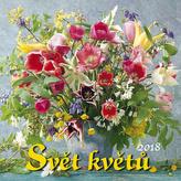 Svět květů 2018 - nástěnný kalendář