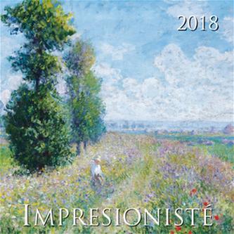 Impresionisté 2018 - nástěnný kalendář