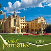 České památky 2018 - nástěnný kalendář