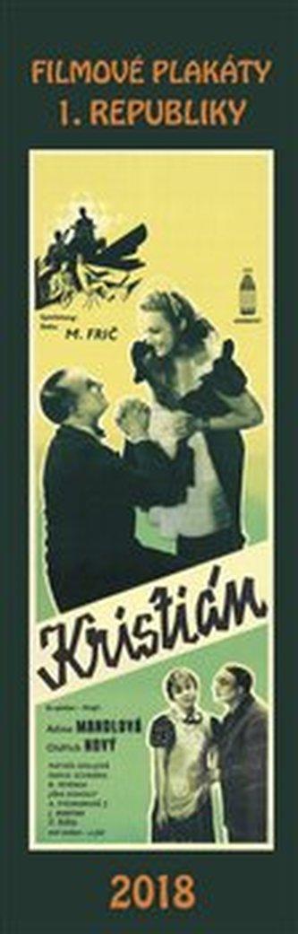 Kalendář - Filmové plakáty První republiky 2018