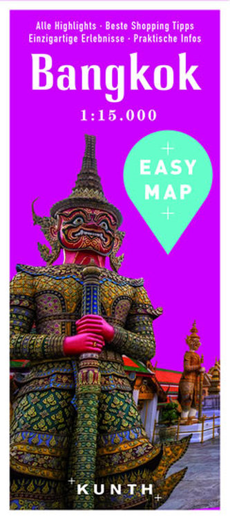 Bangkok Easy Map - neuveden