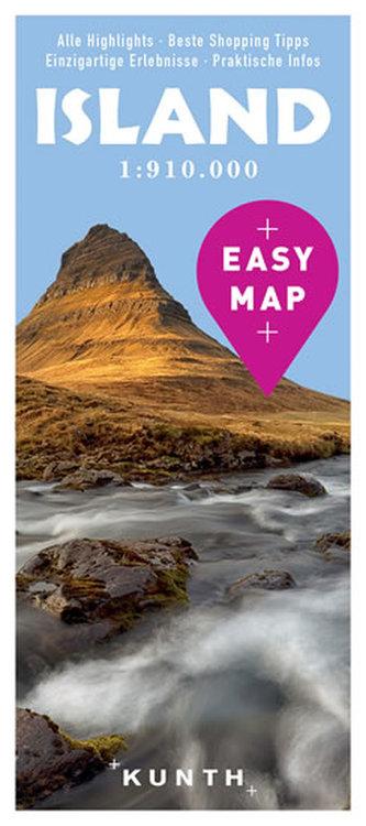 Island Easy Map - neuveden