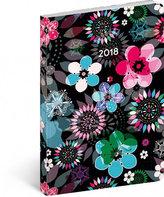 Diář 2018 - Květiny, týdenní ultralehký, 11 x 17 cm, B6
