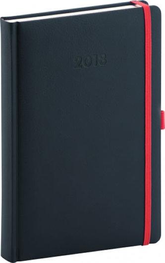 Diář 2018 - Luzern - denní, A5, tmavě modrý, 15 x 21 cm - neuveden