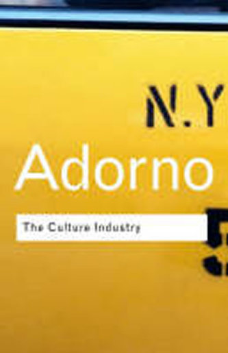theodor adorno culture industry essay