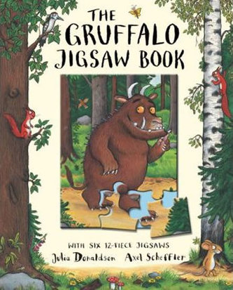The Gruffalo - Jigsaw Book - Donaldson Julia