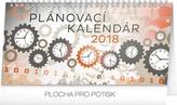 Plánovací kalendár - stolní kalendár 2018