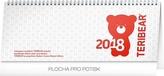 Teribear - stolní kalendář 2018