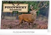 Poľovnícky kalendár  - stolový kalendár 2018