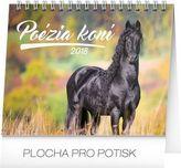 Poézia koní - stolný kalendár 2018