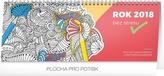 Rok bez stresu - stolní kalendář s omalovánkami 2018