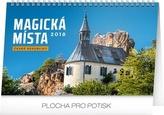 Magická místa České republiky - stolní kalendář 2018