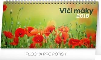 Vlčí máky - stolní kalendář 2018