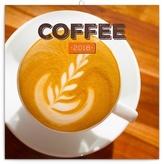 Káva - nástěnný kalendář 2018