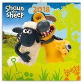 Ovečka Shaun - nástěnný kalendář 2018