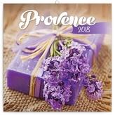 Provence - nástěnný kalendář 2018