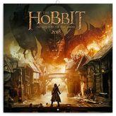 Hobbit - nástěnný kalendář 2018