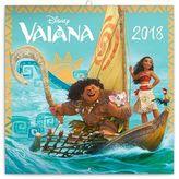 Odvážná Vaiana Legenda o konci světa - nástěnný kalendář 2018