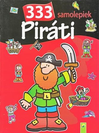 Piráti - 333 samolepiek - autor neuvedený