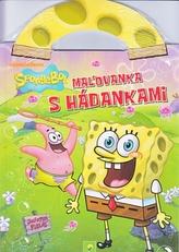 Maľovanka s hádankami - SpongeBob