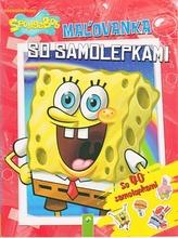 SpongeBob - Maľovanka so 40 samolepkami