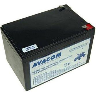 Baterie Avacom do vozítka Peg Pérego F2 (olověný akumulátor) 12V 12Ah
