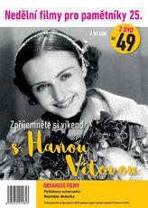 Nedělní filmy pro pamětníky 25. - Hana Vítová - 2 DVD pošetka