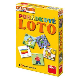 Dino Toys - Pohádkové Loto - cestovní hra