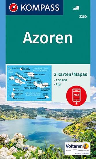 Azoren ( sada 2 mapy ) 2260