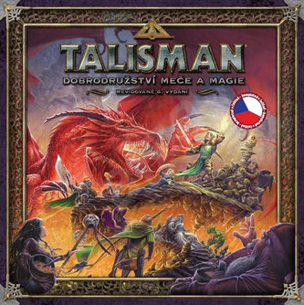 Talisman/Dobrodružství meče a magie - Společenská hra - neuveden