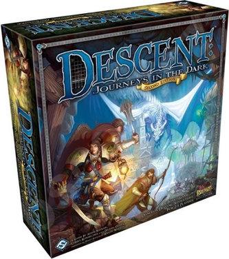 Descent druhá edice/Journeys in the Dark - Desková hra - neuveden