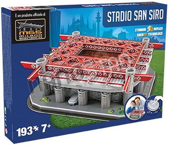 3D Puzzle Nanostad Italy - San Siro fotbalový stadion Inter´s packaging - DOMINGO STEREO