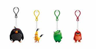 Angry Birds - 3D figurka 4-4,8 cm s nylon přívěskem(více druhů) - neuveden