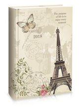 Diář B6 LYRA týdenní Paris 2018