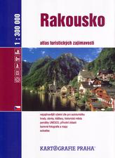 Rakousko - Atlas turistických zajímavostí/1:300 tis.