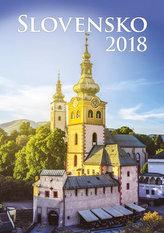 Kalendář nástěnný 2018 - Slovensko