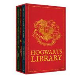 The Hogwarts Library Boxed Set - Rowlingová Joanne Kathleen