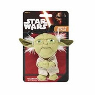 Star Wars VII - Yoda/Mini mluvící plyšová hračka 10cm - neuveden