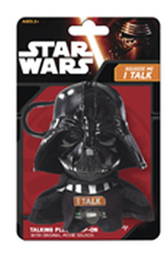 Star Wars VII - Dart Vader/Mini mluvící plyšová hračka 10cm - neuveden