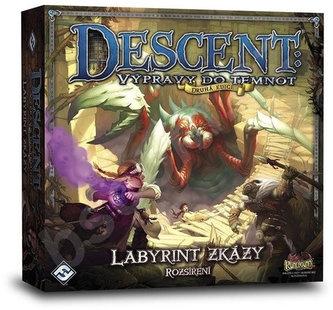 Descent druhá edice/Labyrint zkázy - Desková hra - neuveden