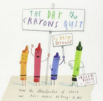 The Day Crayons Quit - Daywalt Drew