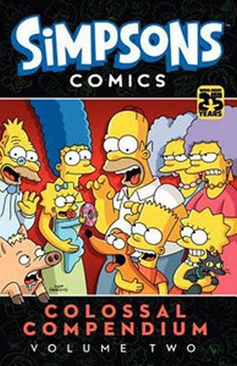 Simpsons Comics Colossal Compendium, Volume 2 - Matt Groening