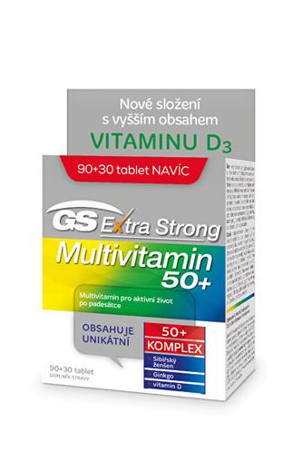 GreenSwan GS Extra Strong Multivitamin 50+ - 90+30 tablet