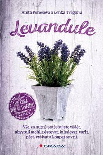 Levandule - Vše, co nutně potřebujete vědět... - Ponešová Anita, Tréglová Lenka,