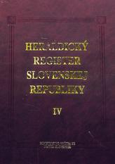Heraldický register Slovenskej republiky IV