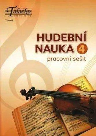 Hudební nauka Klíček 4 - Pracovní učebnice hudební teorie 4.díl - Šašinková Eva
