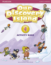 Our Discovery Island  4 Activity Book and CD ROM (Pupil) Pack